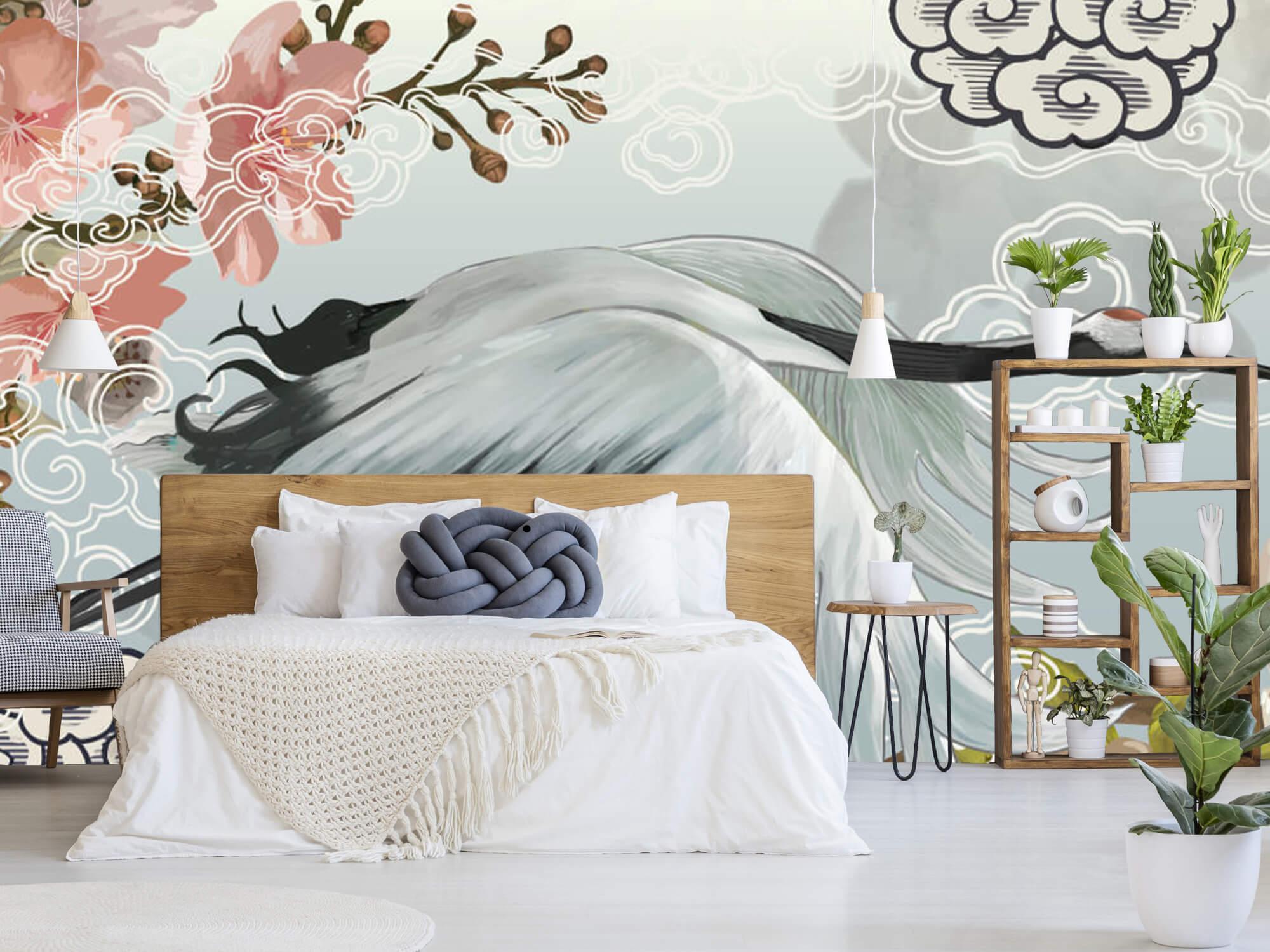 pattern Elegante kraanvogel 2