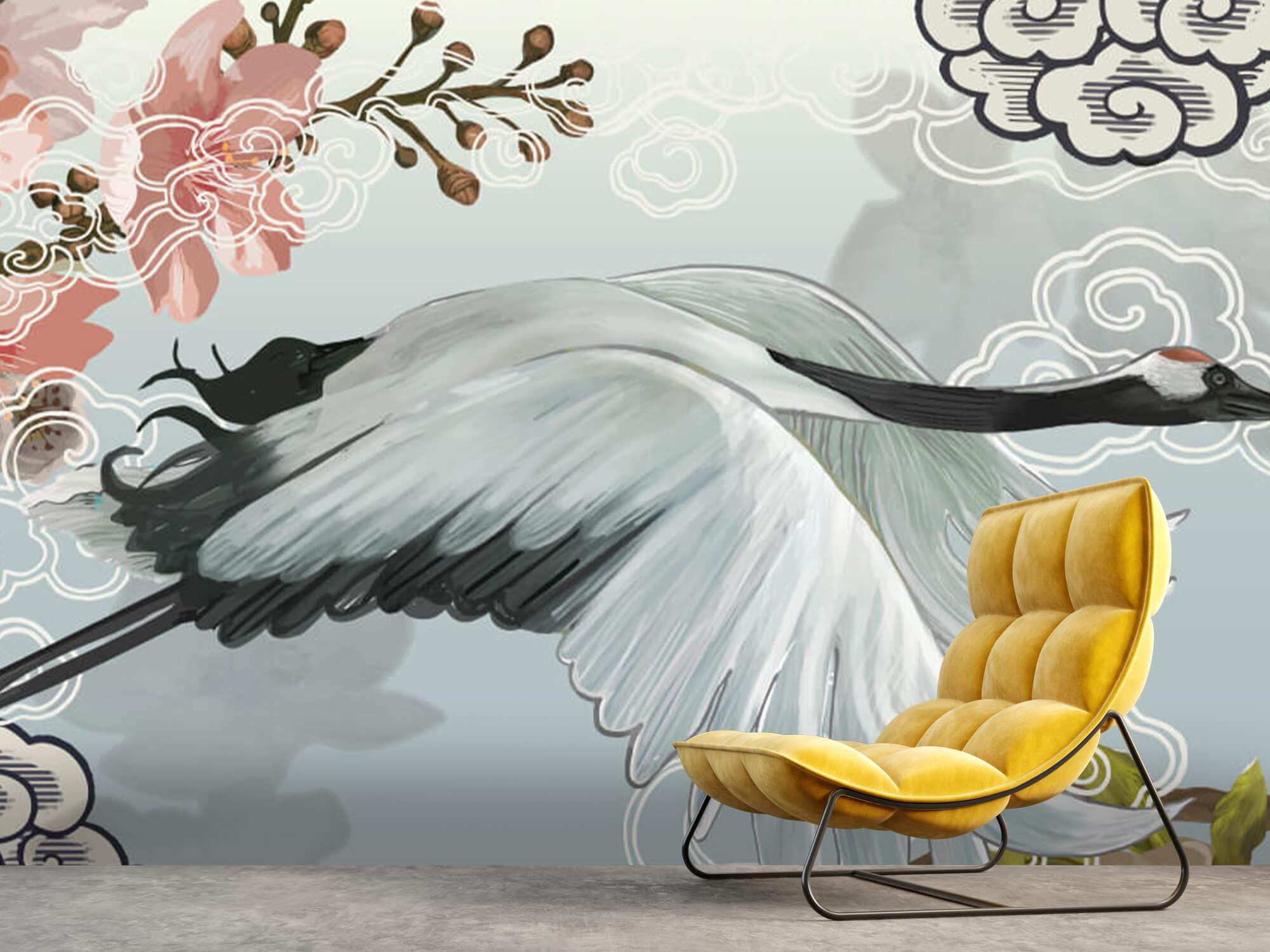 pattern Elegante kraanvogel 5