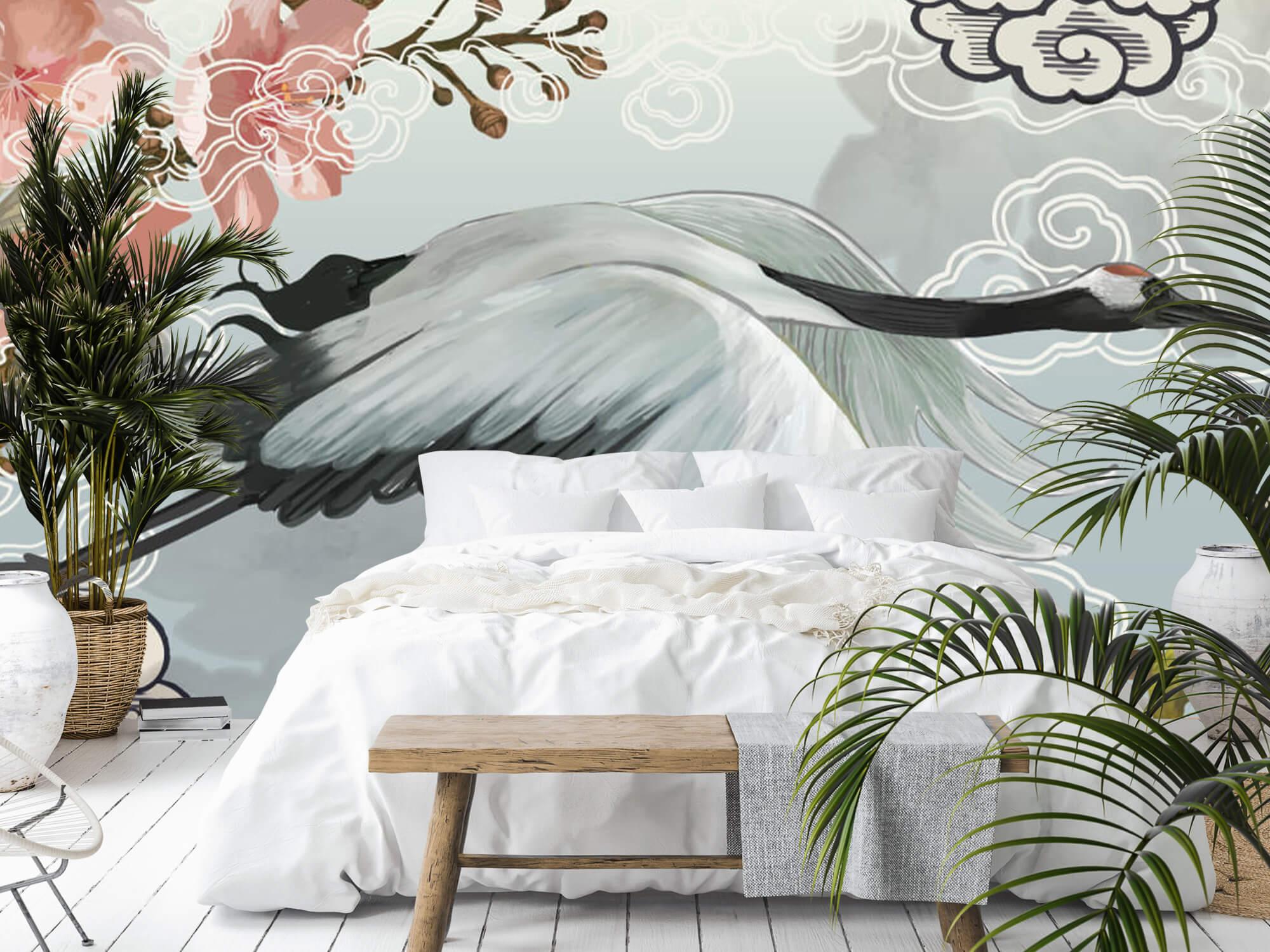 pattern Elegante kraanvogel 6
