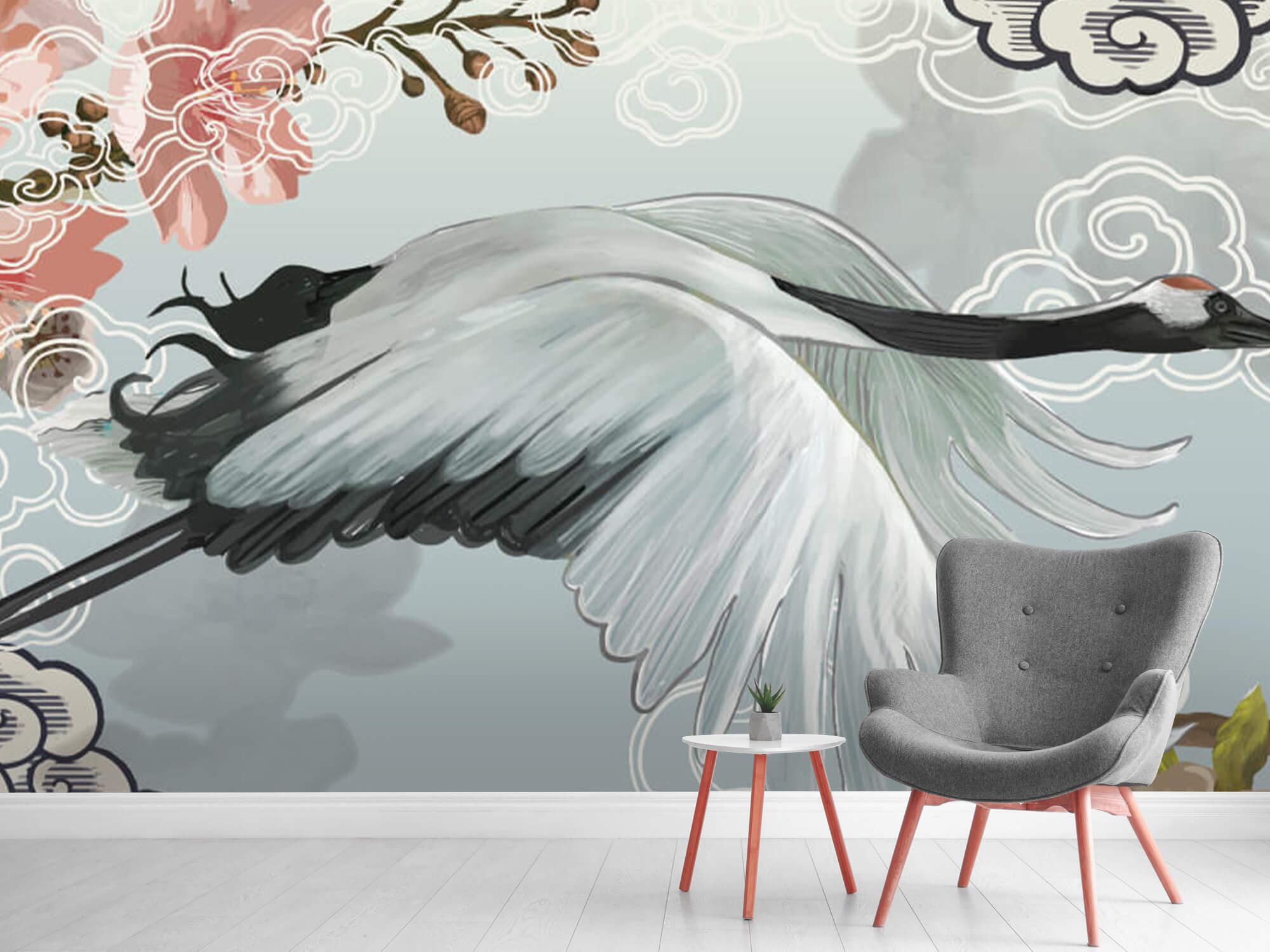 pattern Elegante kraanvogel 7