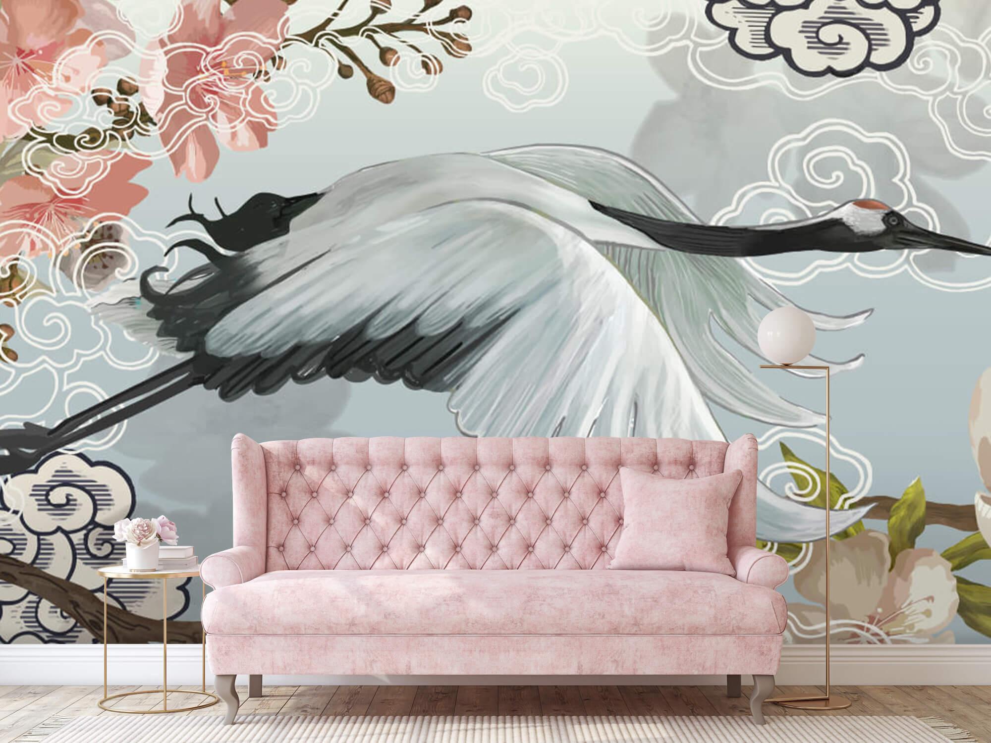 pattern Elegante kraanvogel 9
