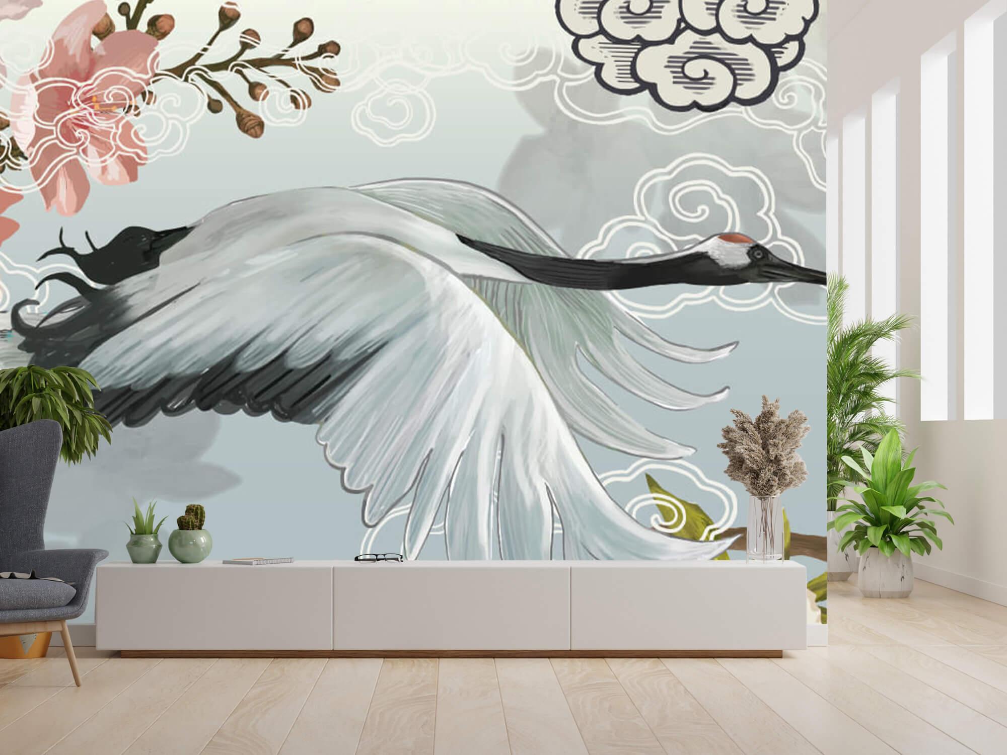 pattern Elegante kraanvogel 10