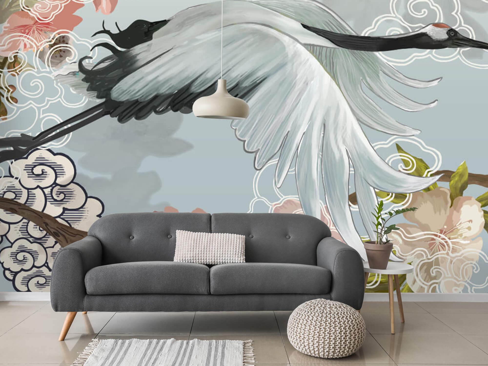 pattern Elegante kraanvogel 11
