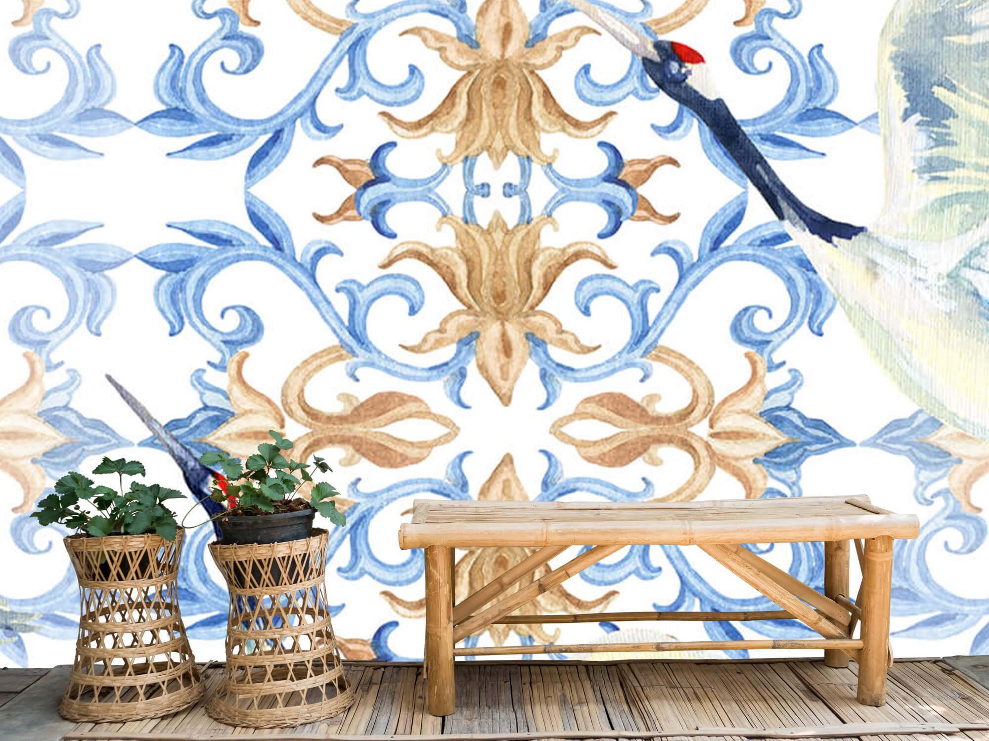 Blauwe kraanvogels 3
