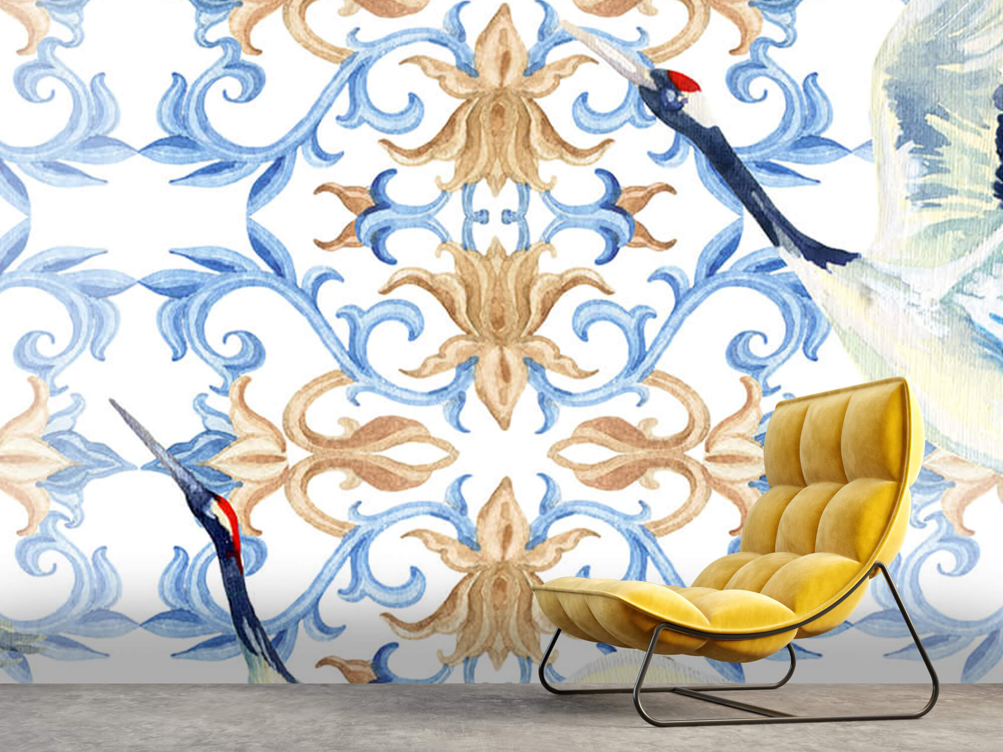 Blauwe kraanvogels 9