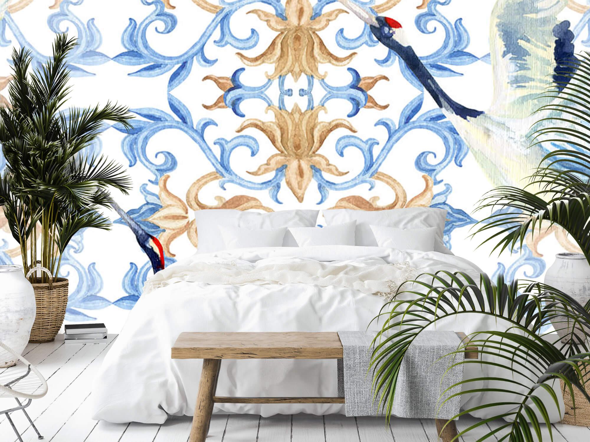 Blauwe kraanvogels 1