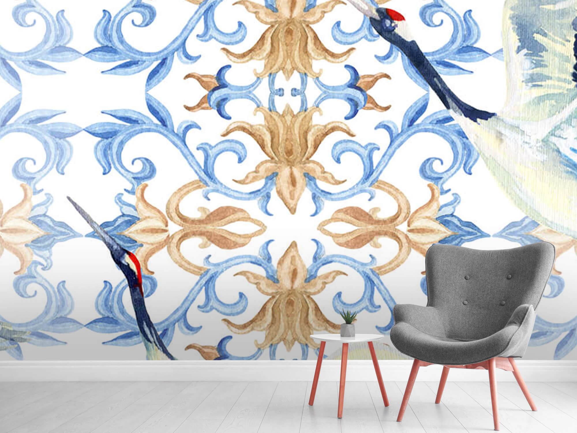 Blauwe kraanvogels 10