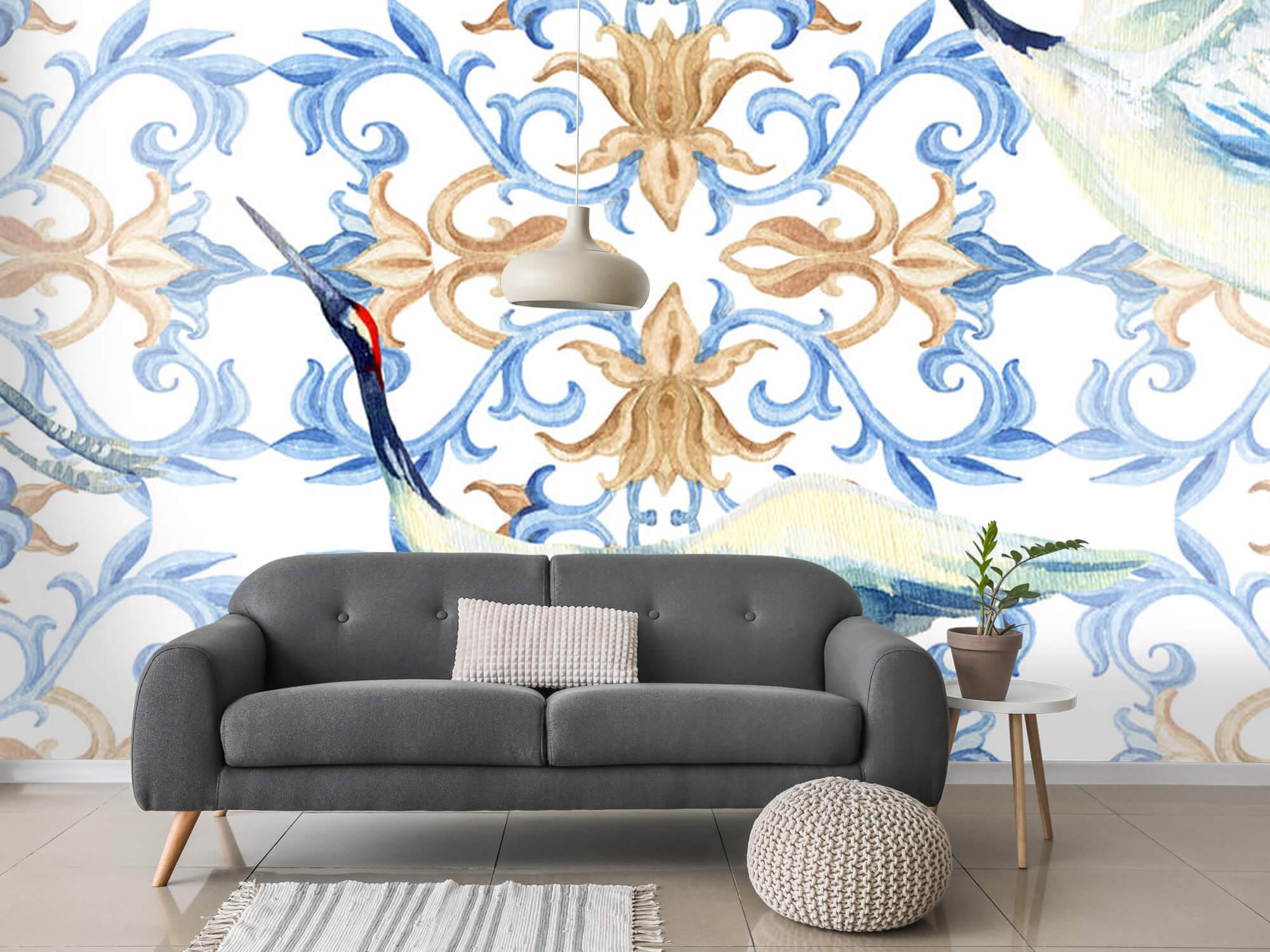 Blauwe kraanvogels 6