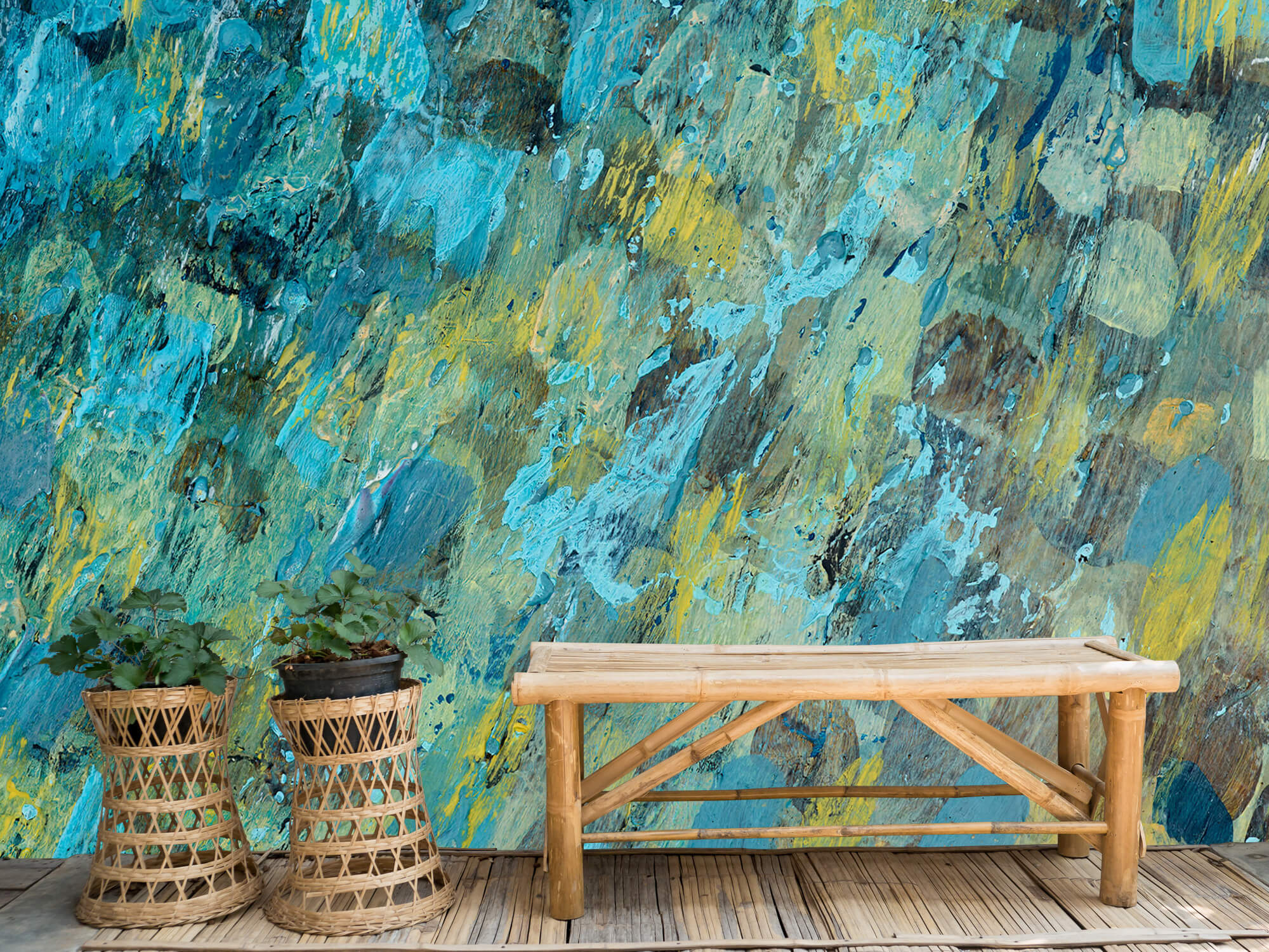 Art Gekleurd abstract 4