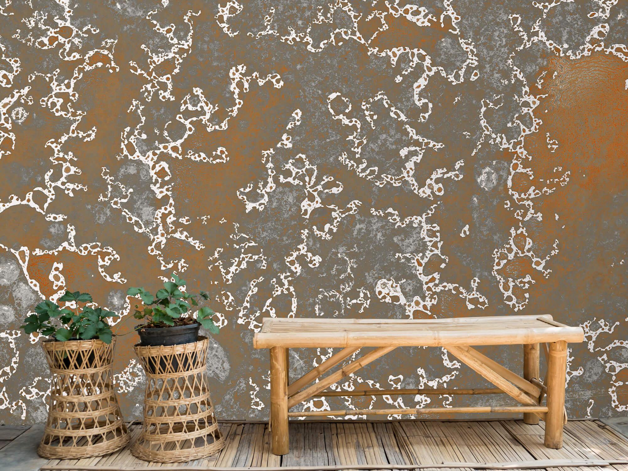 Texturen Staal met roeststructuur 2
