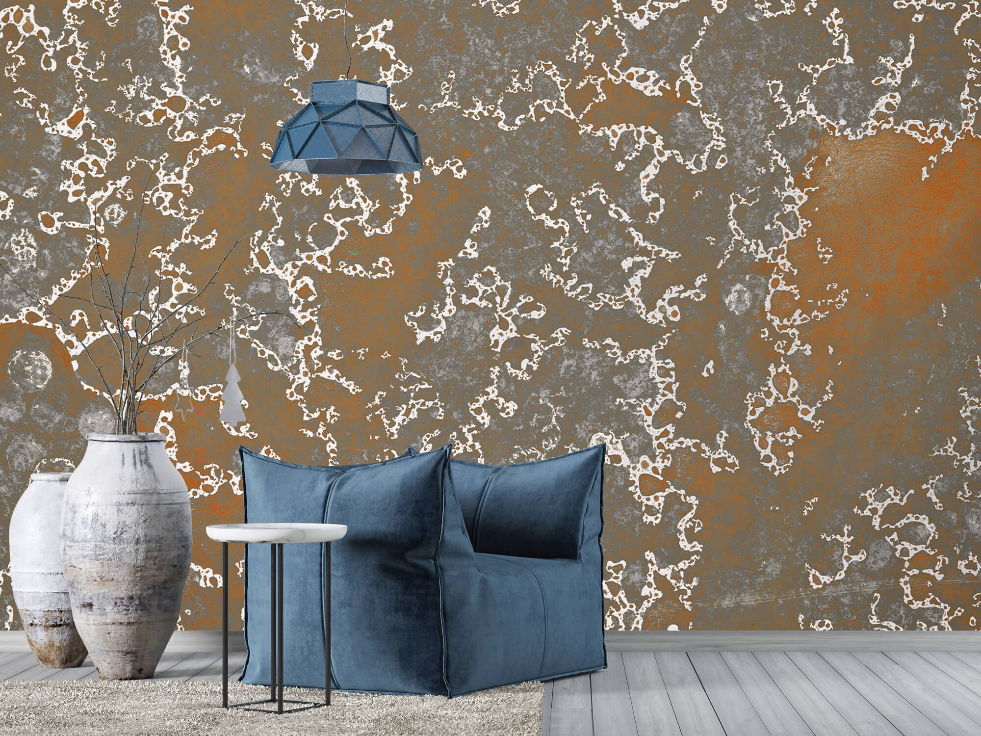 Texturen Staal met roeststructuur 6