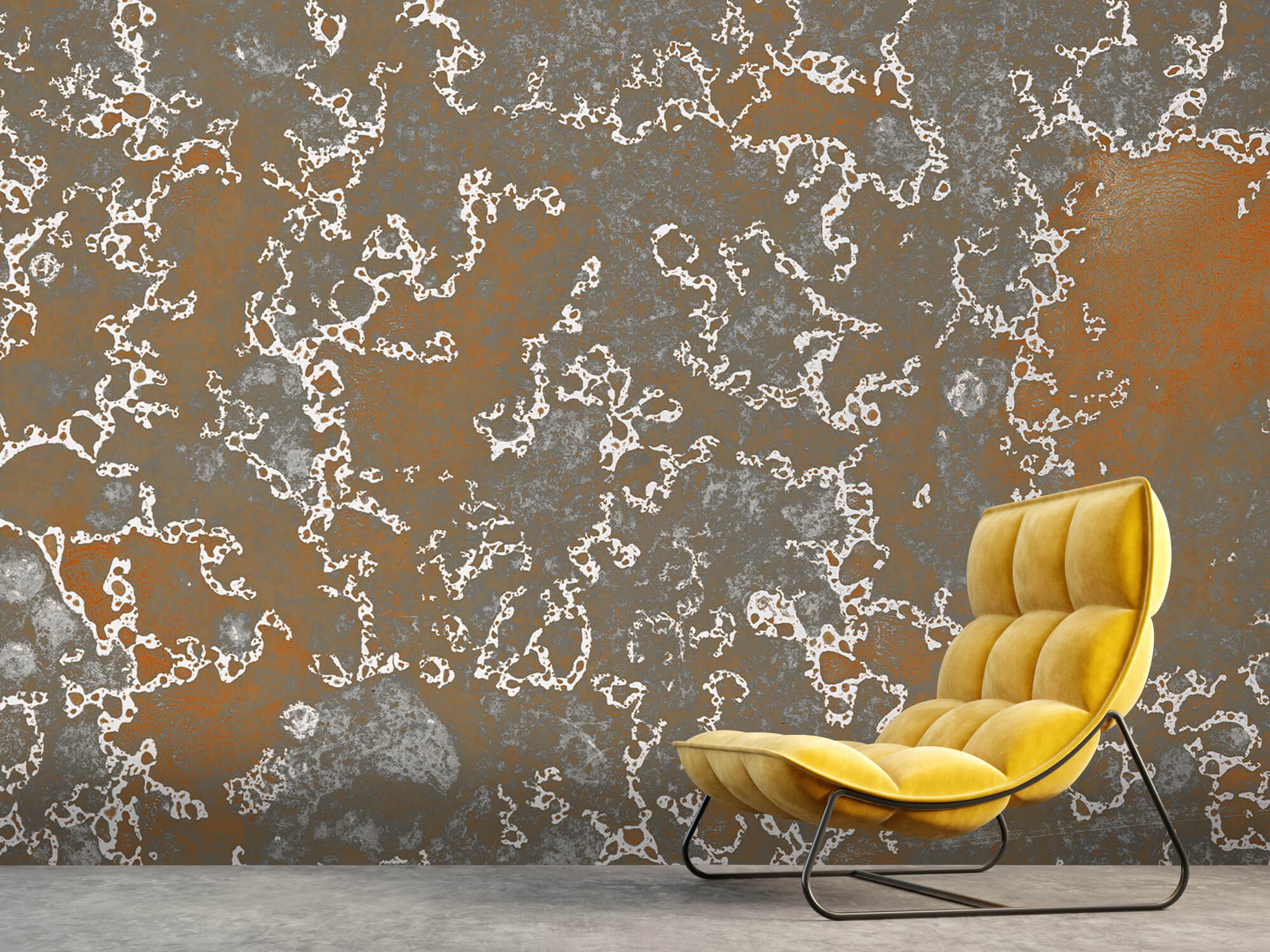 Texturen Staal met roeststructuur 8