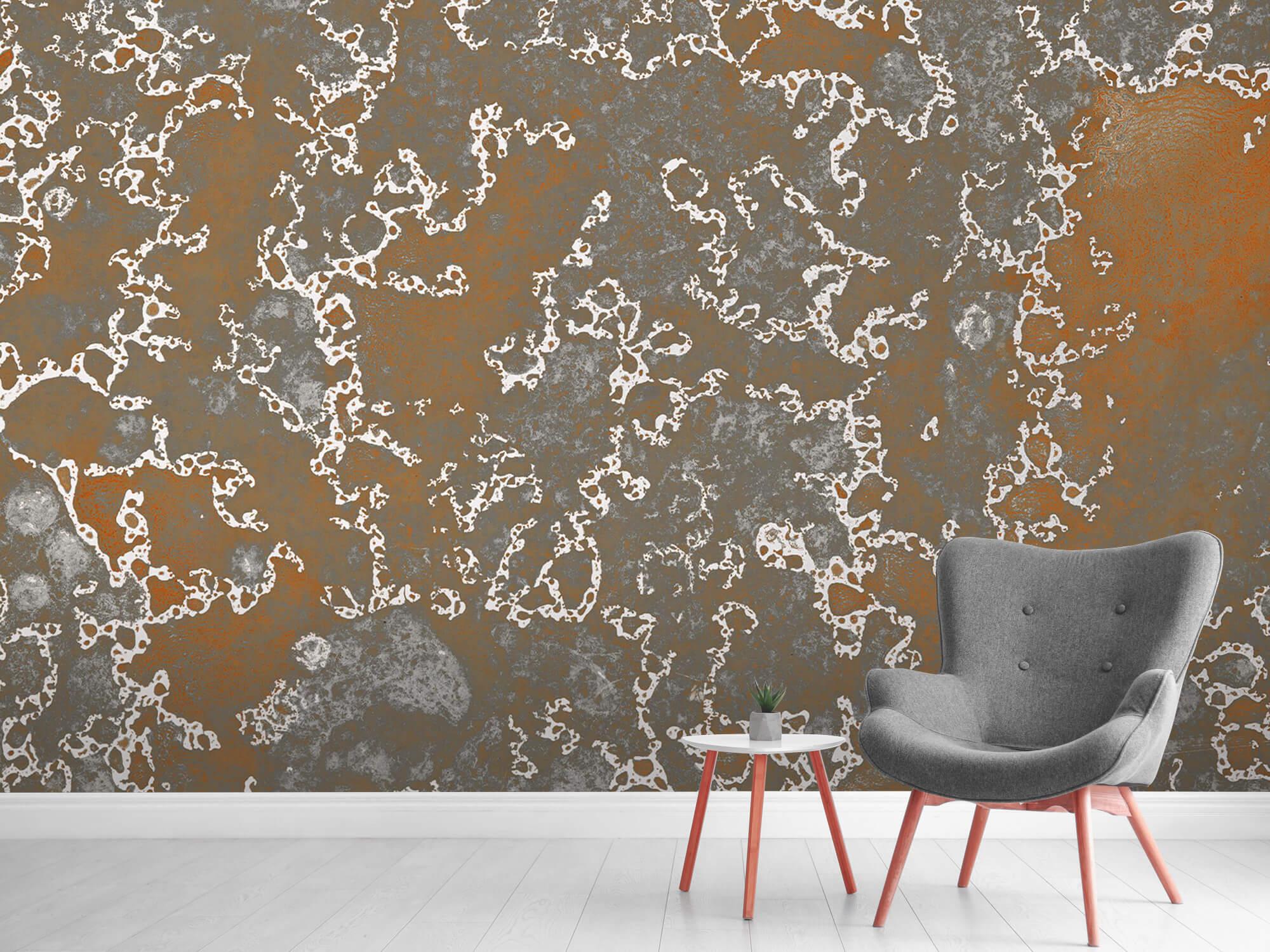 Texturen Staal met roeststructuur 9