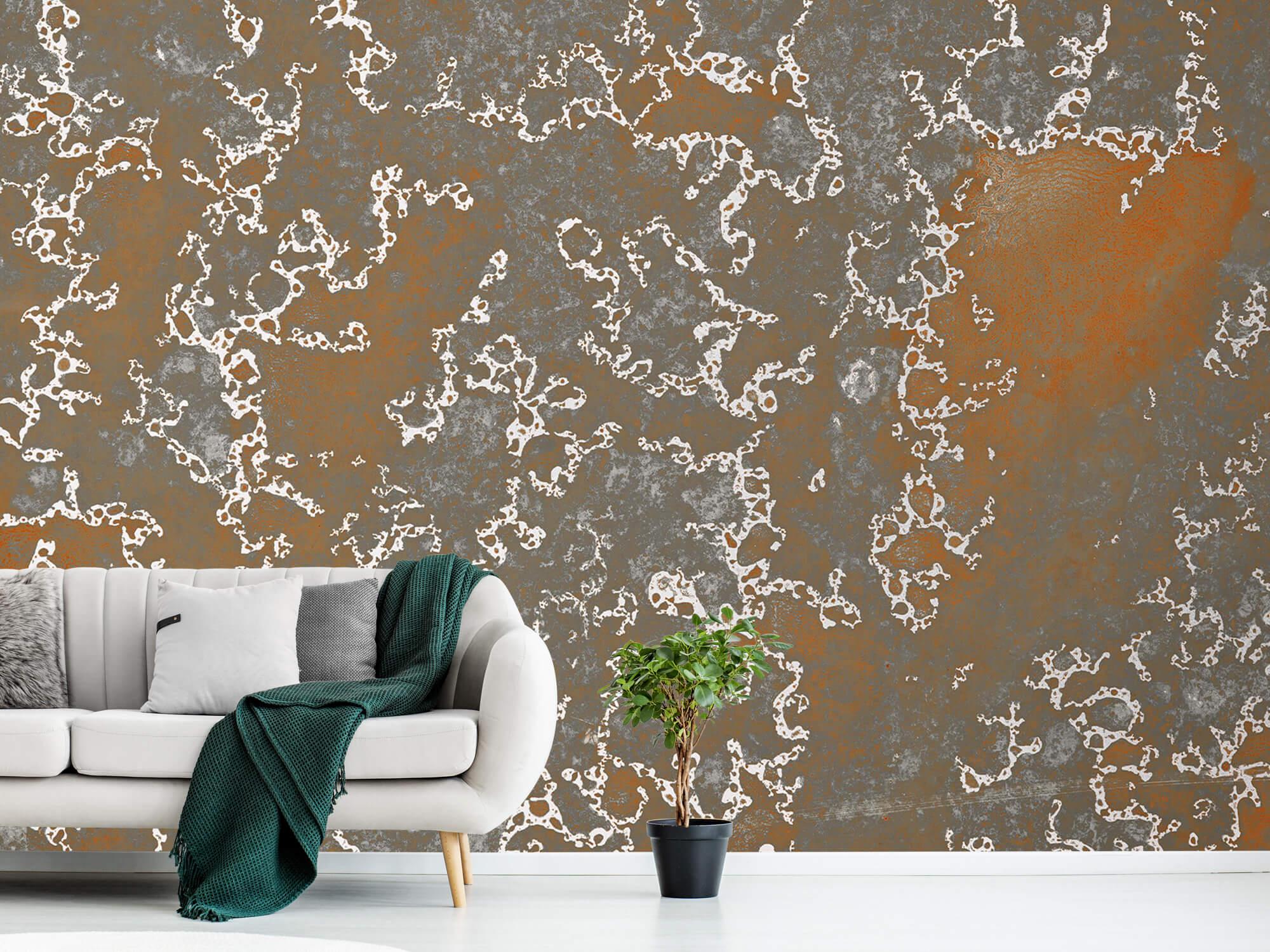 Texturen Staal met roeststructuur 7