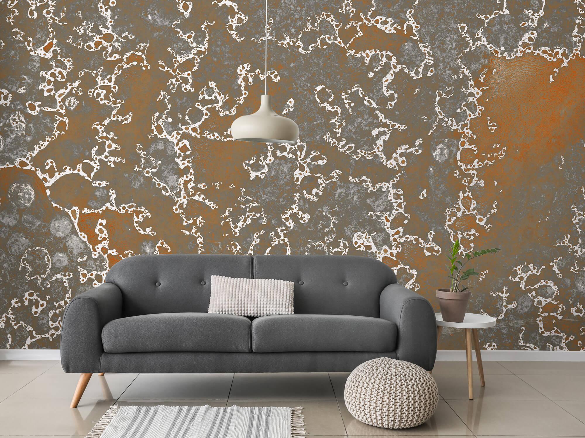 Texturen Staal met roeststructuur 1