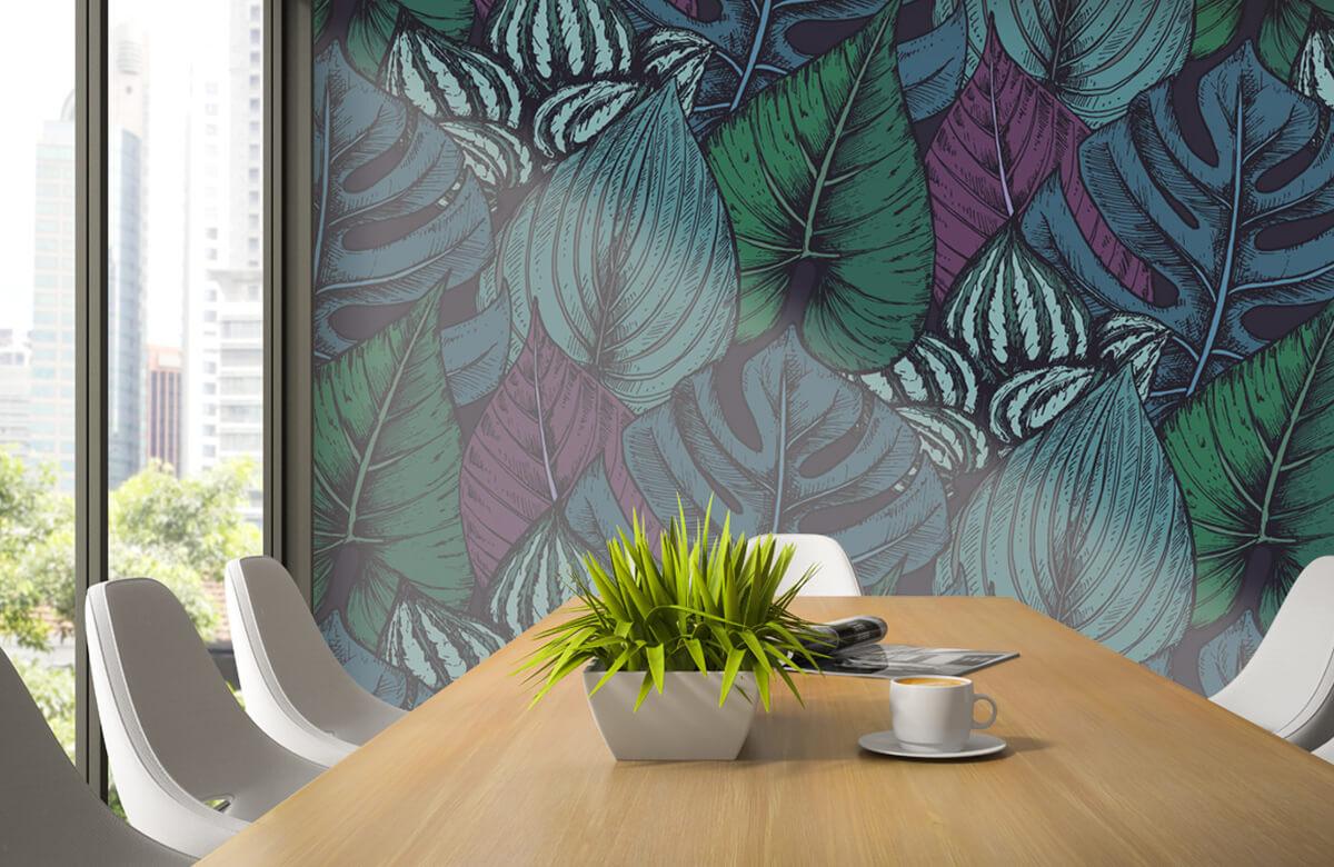 pattern Tropisch bladerpatroon 4