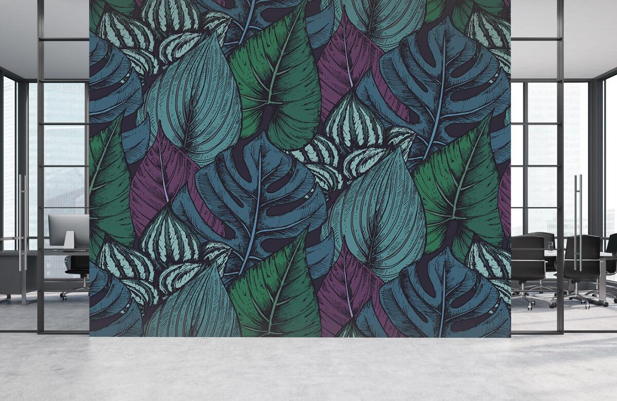 pattern Tropisch bladerpatroon 5