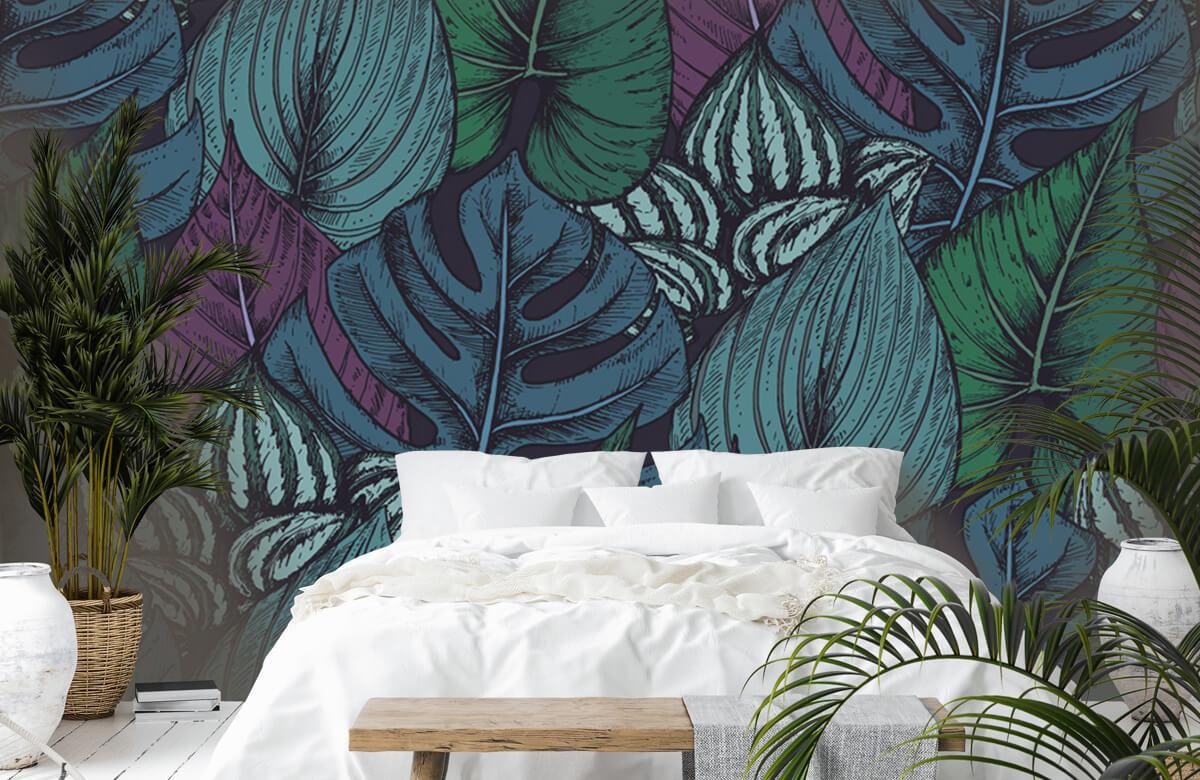 pattern Tropisch bladerpatroon 7