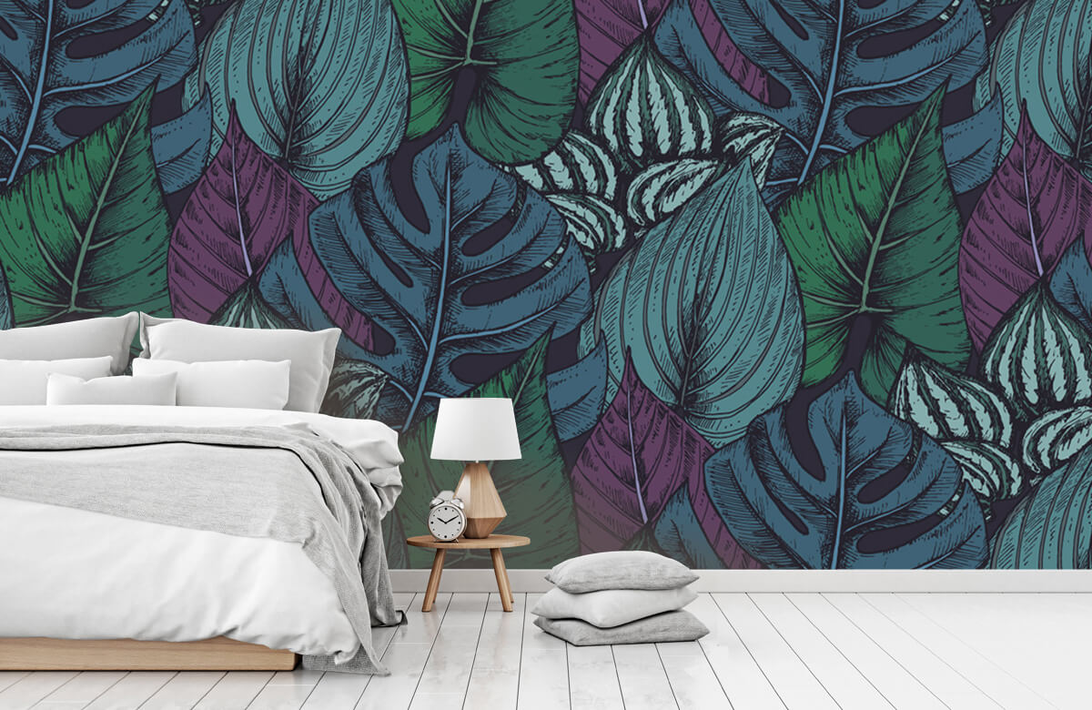 pattern Tropisch bladerpatroon 1
