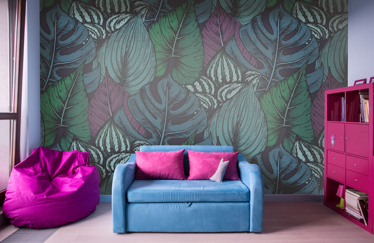 pattern Tropisch bladerpatroon 10