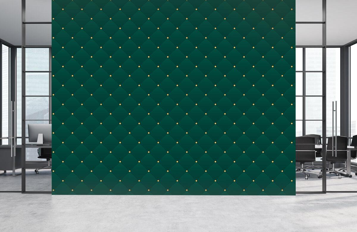 pattern Donkergroen chesterfield patroon 4