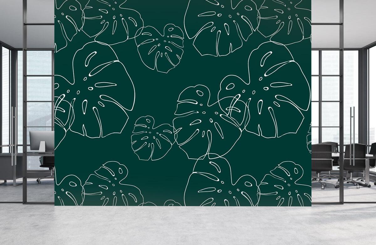 pattern Tropisch blad 6