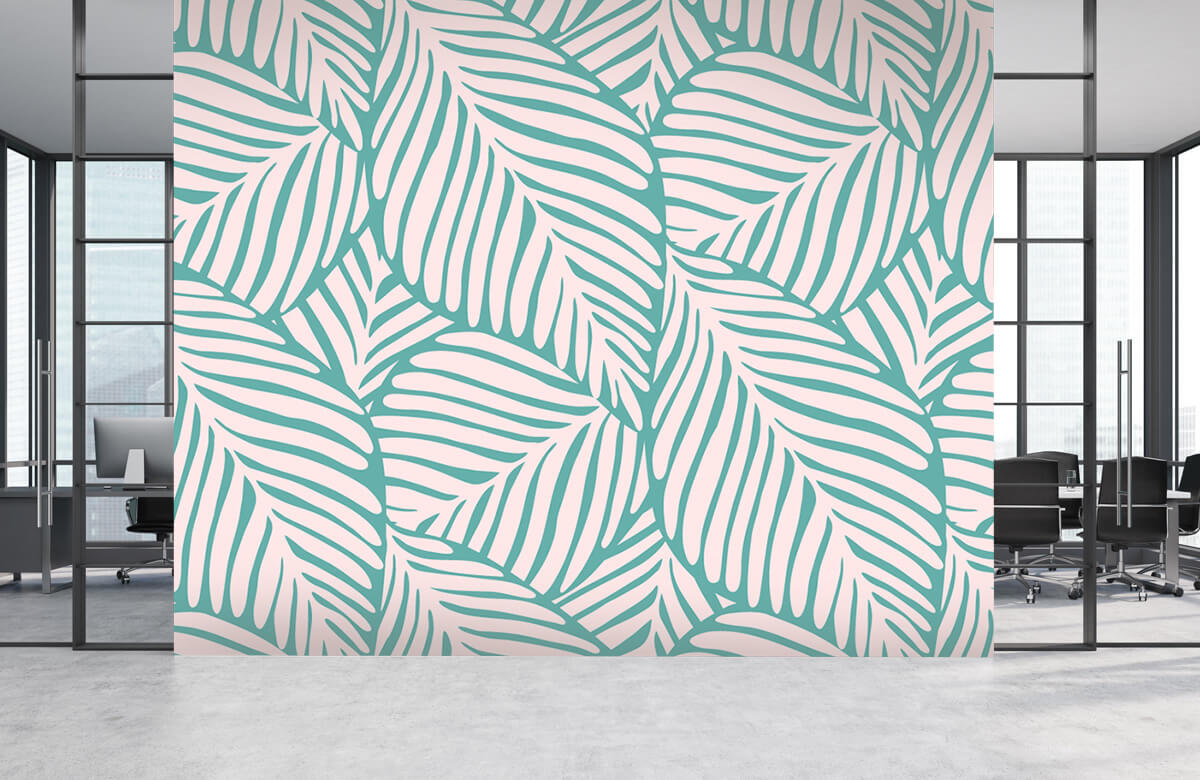 pattern Tropische blaadjes 6