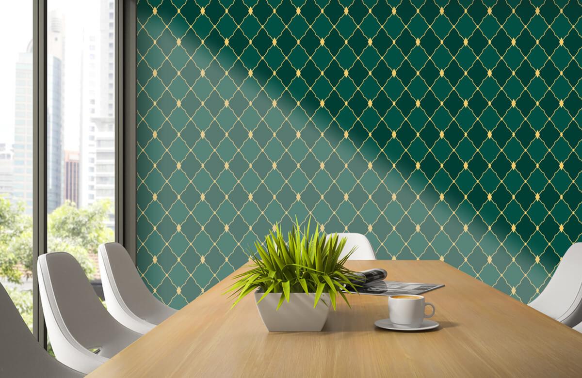 pattern Groene ruitjes 6