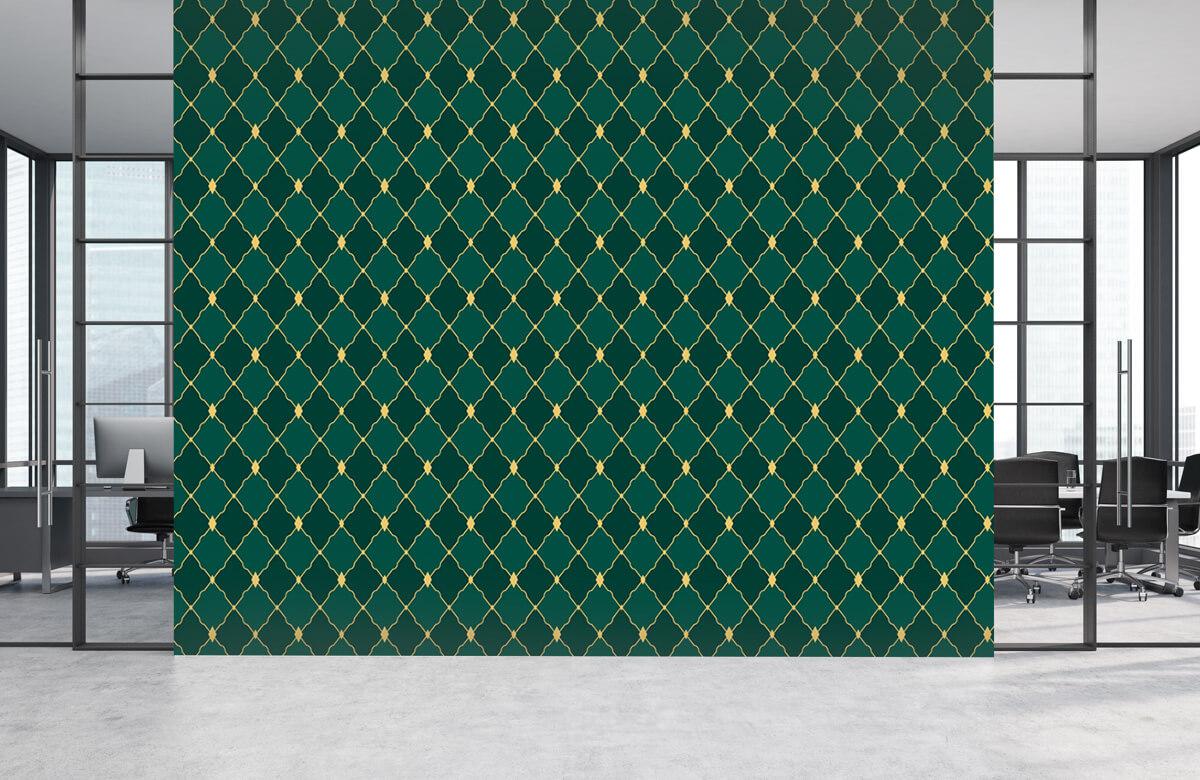 pattern Groene ruitjes 9