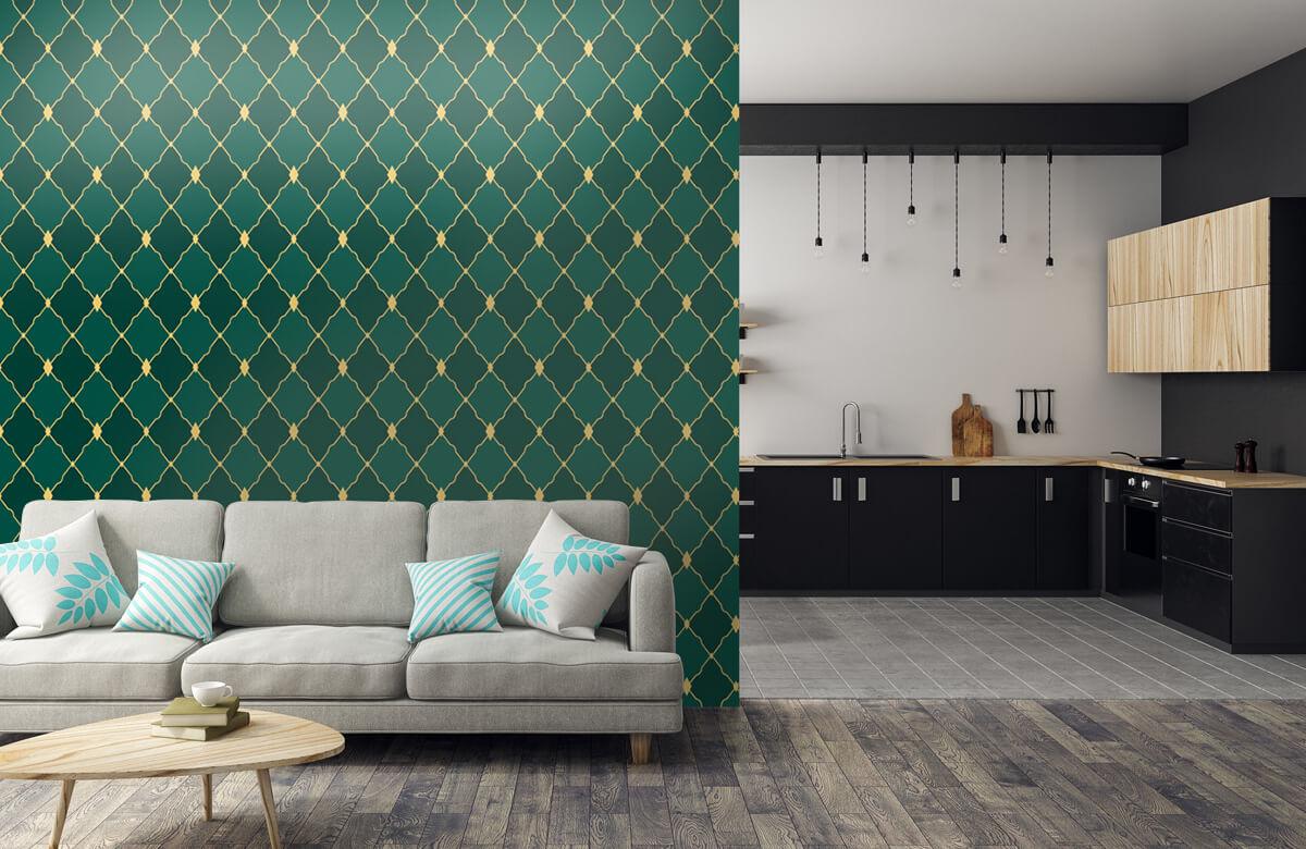 pattern Groene ruitjes 7
