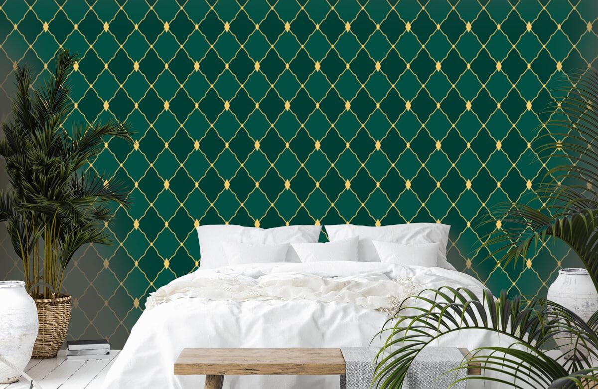 pattern Groene ruitjes 5
