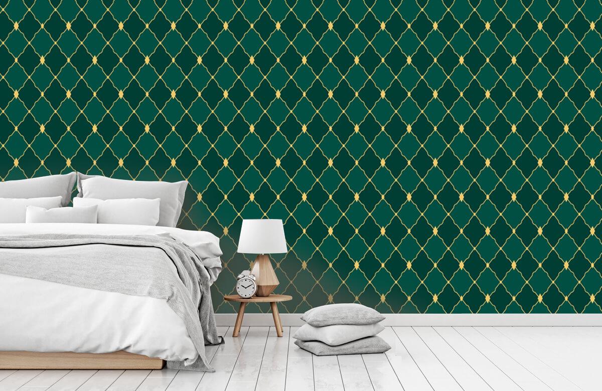 pattern Groene ruitjes 10