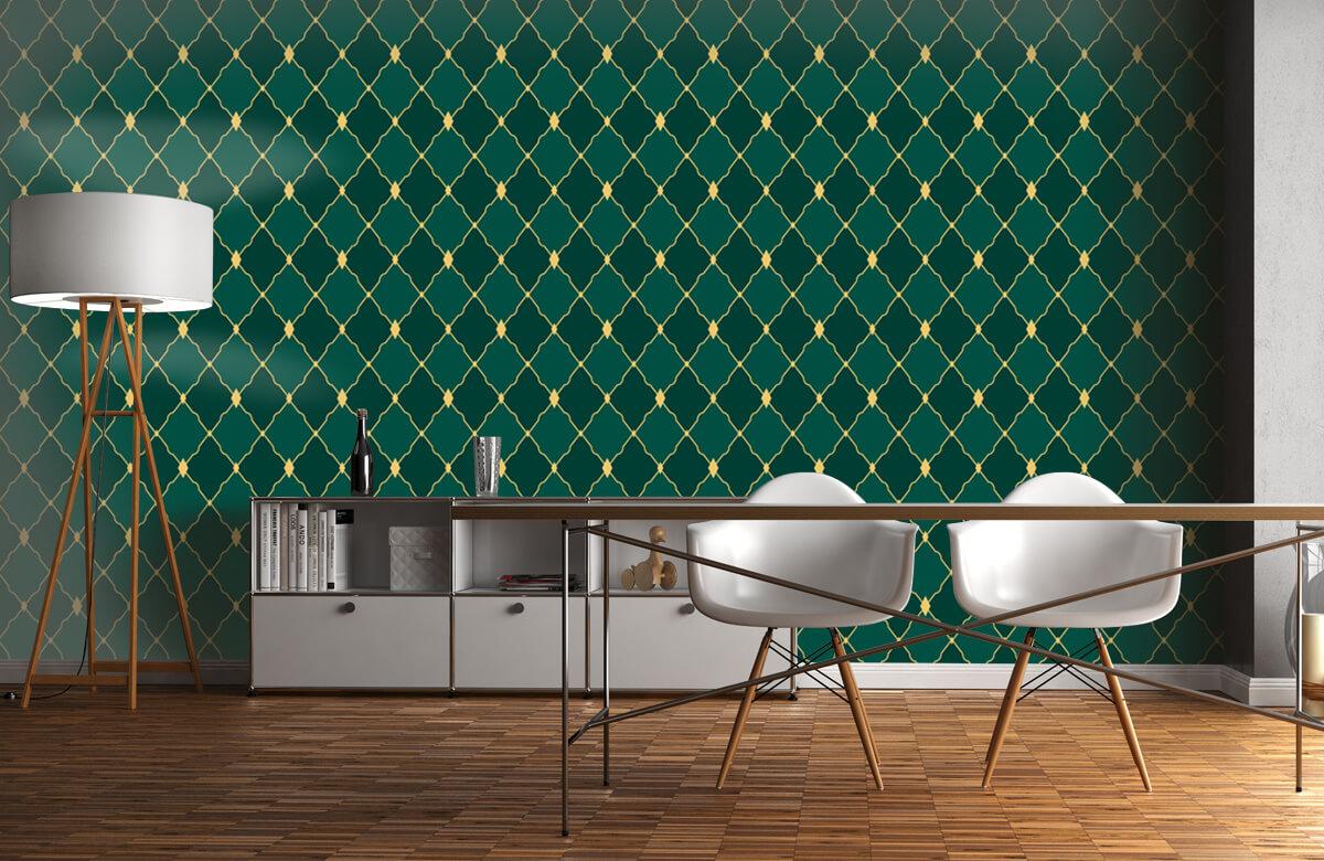 pattern Groene ruitjes 4
