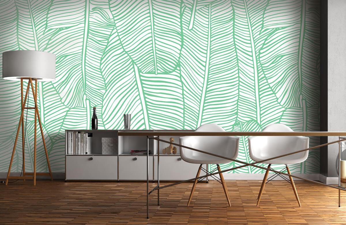 pattern Bladpatroon groen 11