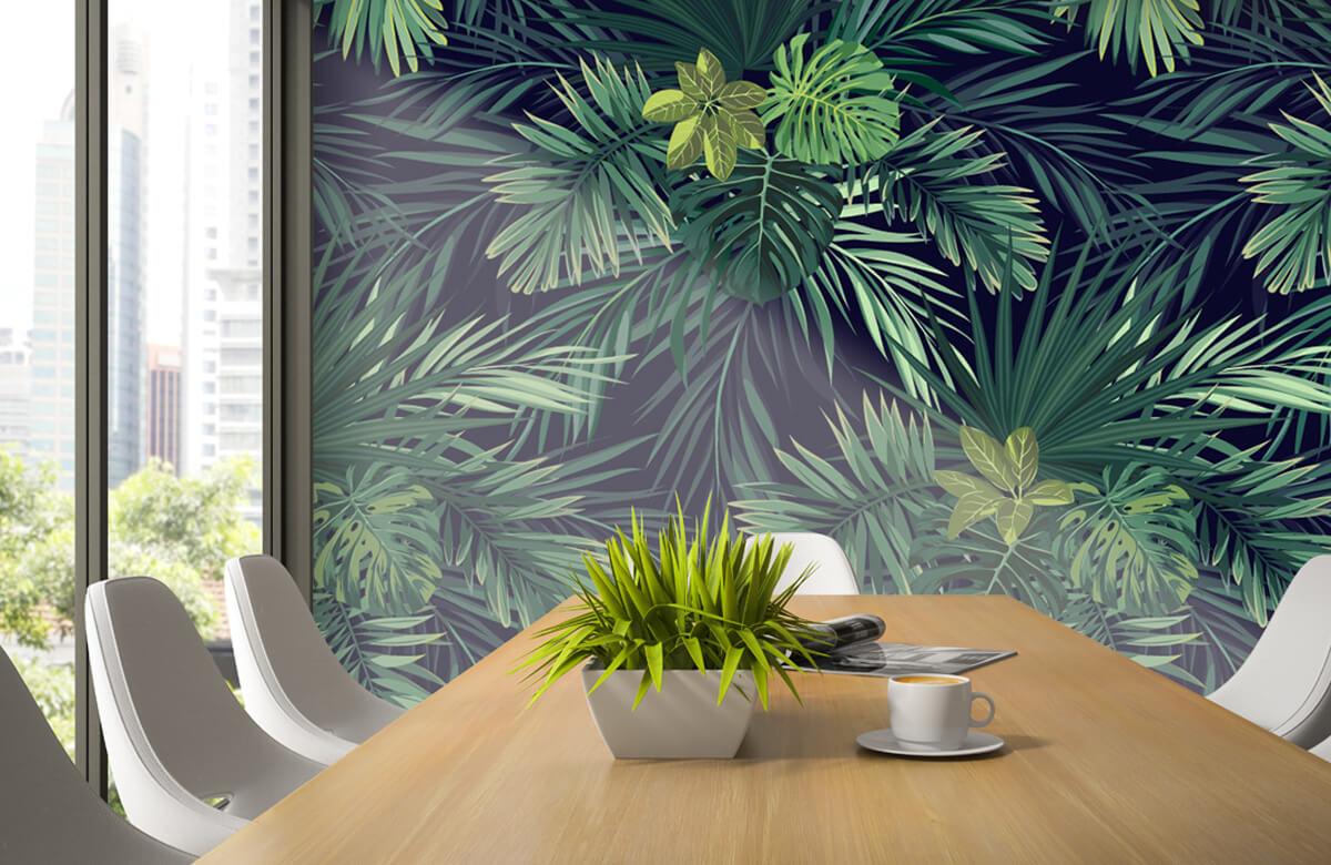pattern Mooie groene bladeren 3