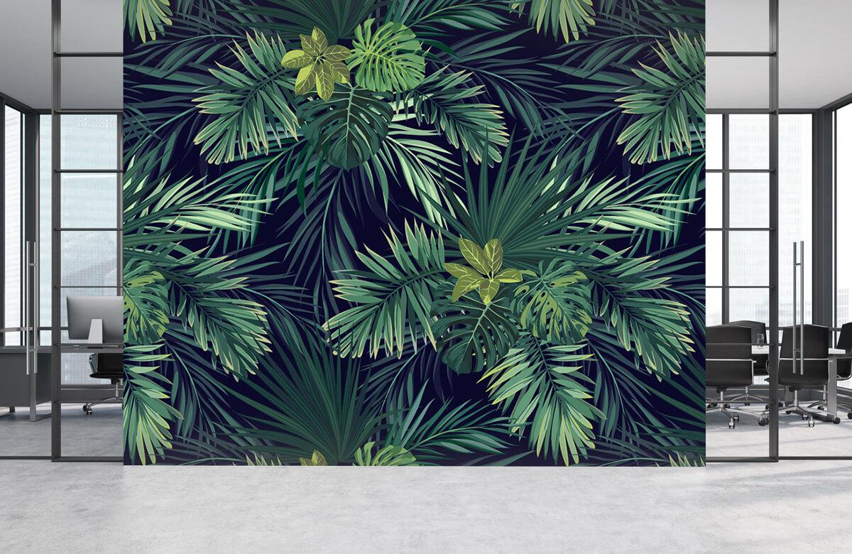 pattern Mooie groene bladeren 5