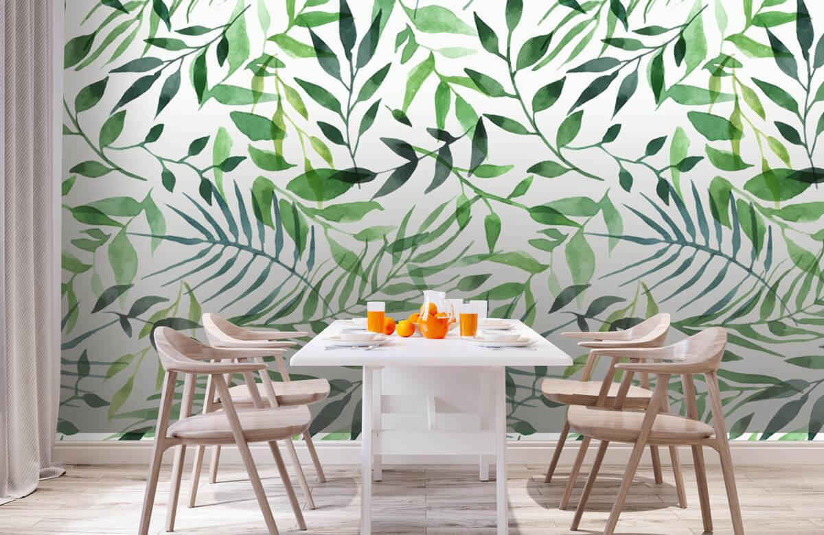 pattern Vrolijk patroon, groen 2