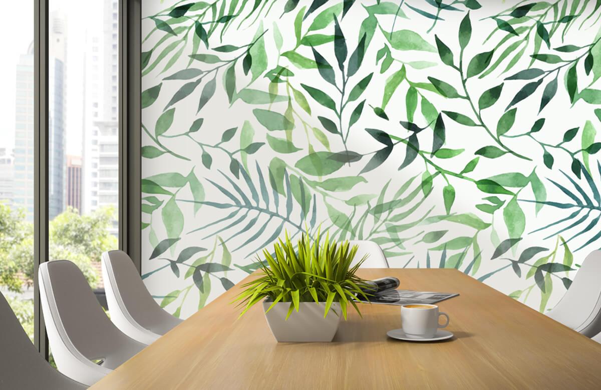 pattern Vrolijk patroon, groen 3