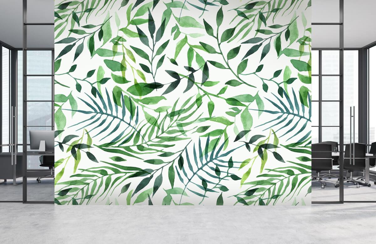 pattern Vrolijk patroon, groen 5