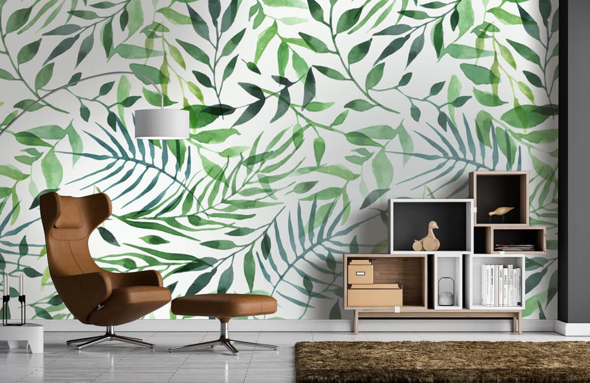 pattern Vrolijk patroon, groen 6