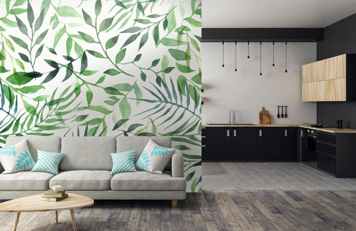 pattern Vrolijk patroon, groen 8