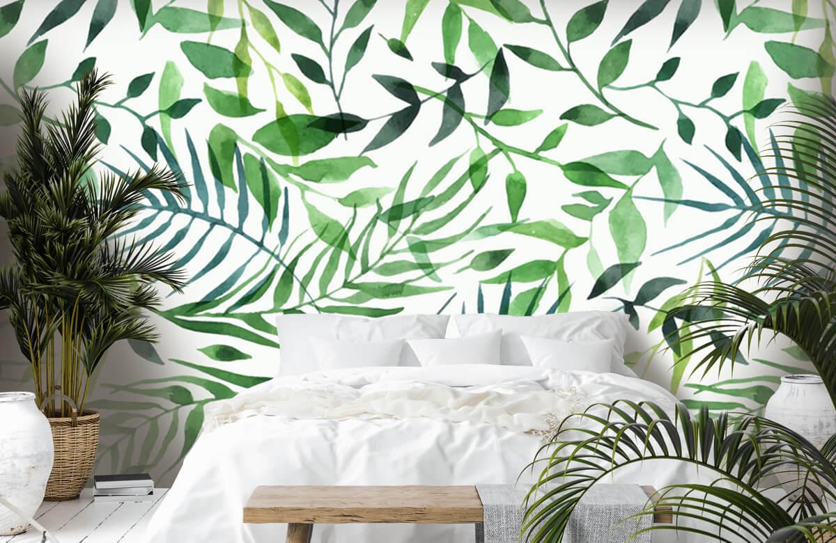pattern Vrolijk patroon, groen 4