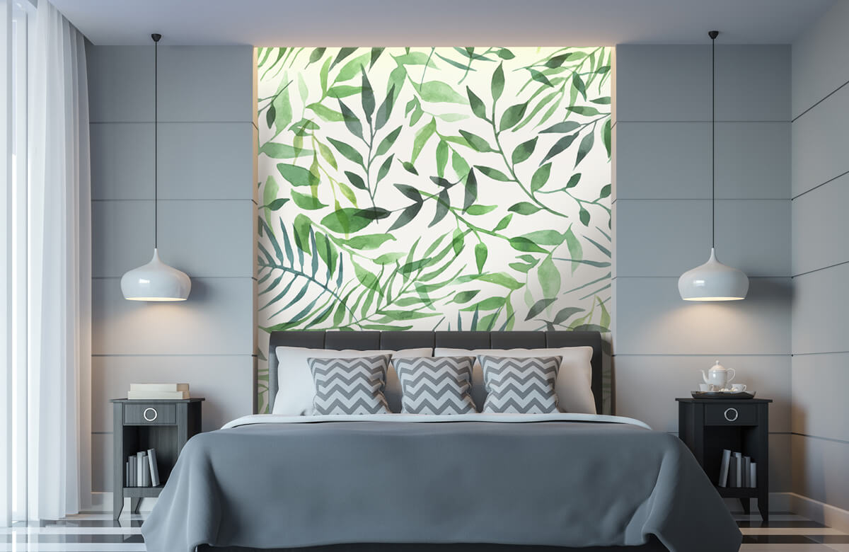 pattern Vrolijk patroon, groen 1