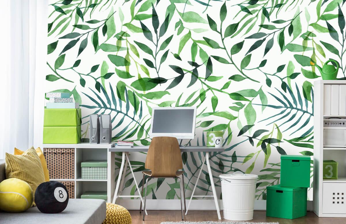 pattern Vrolijk patroon, groen 7