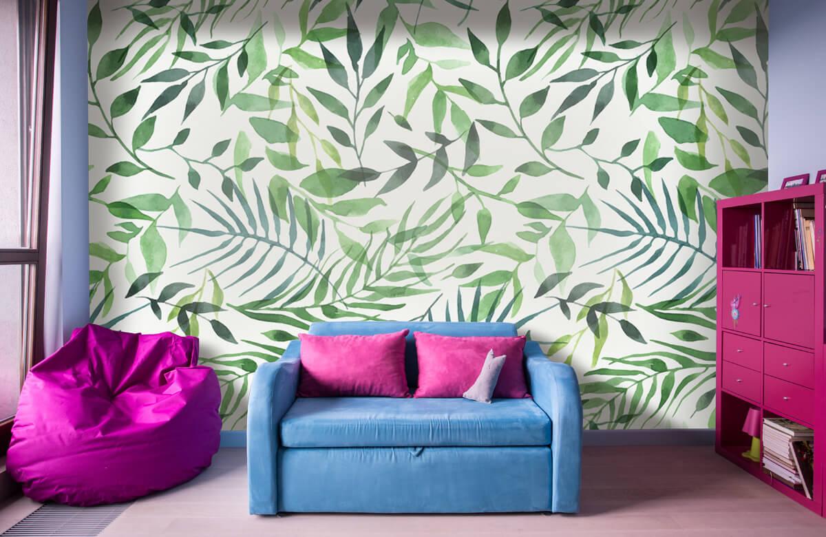 pattern Vrolijk patroon, groen 11