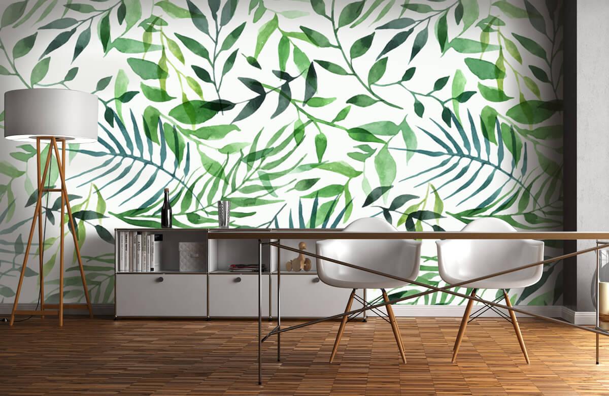 pattern Vrolijk patroon, groen 9