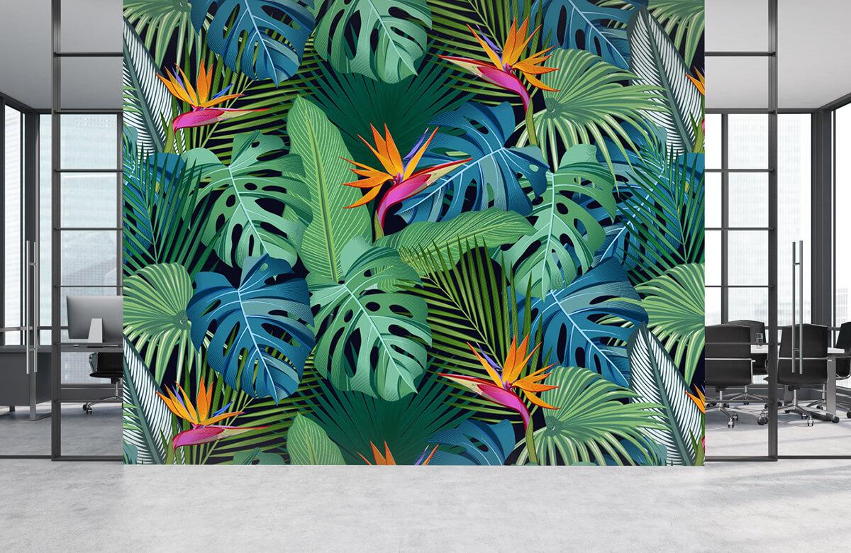 pattern Paradijsvogelbloem 5
