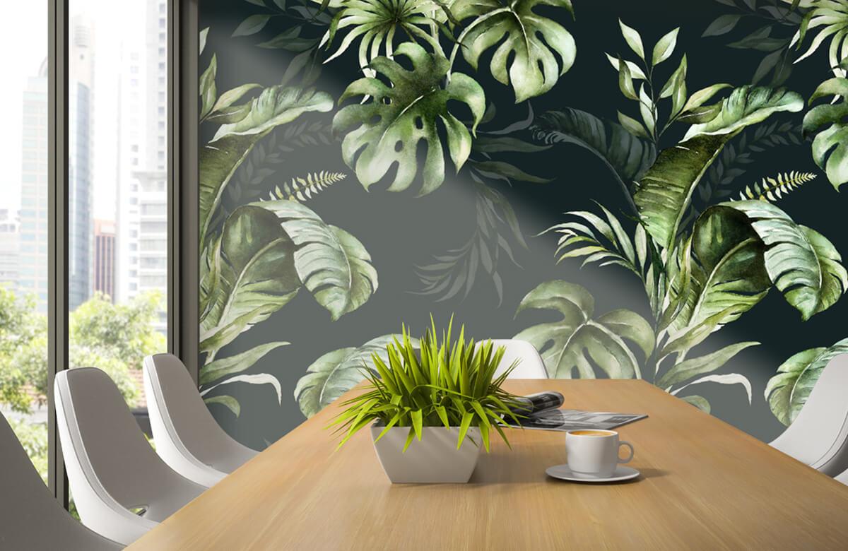 pattern Groene bladeren patroon 4