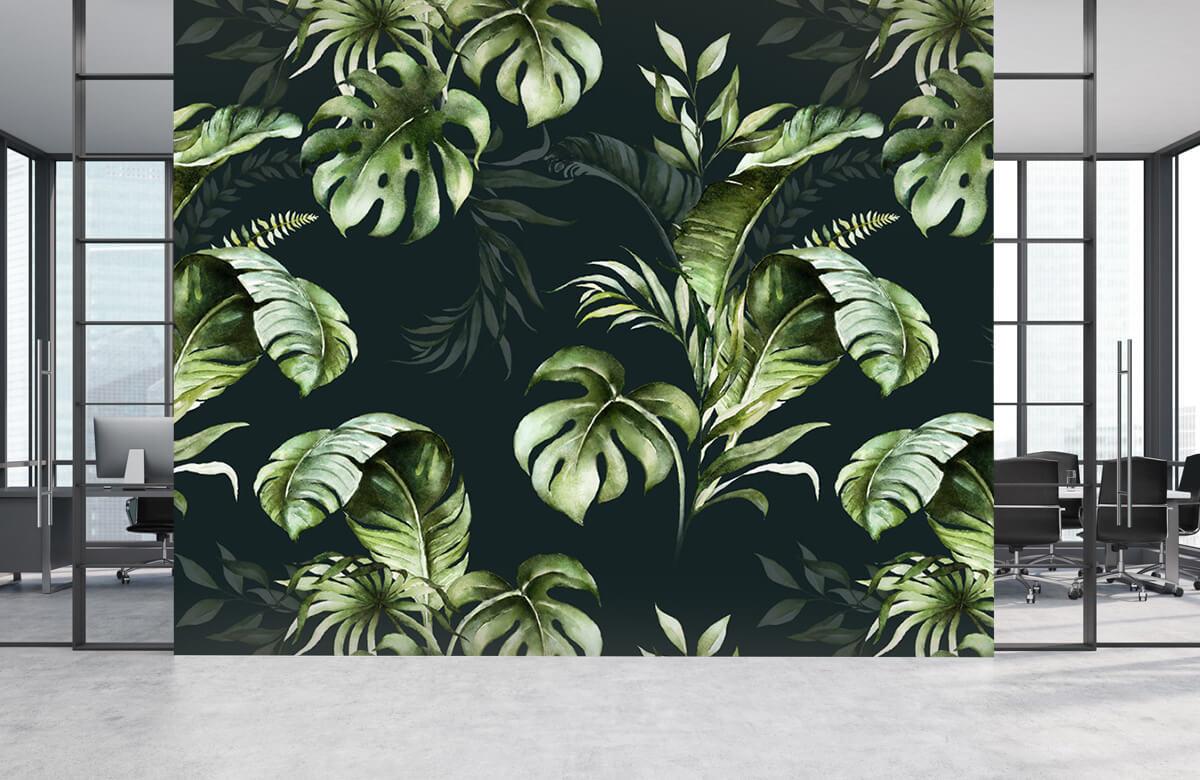 pattern Groene bladeren patroon 5