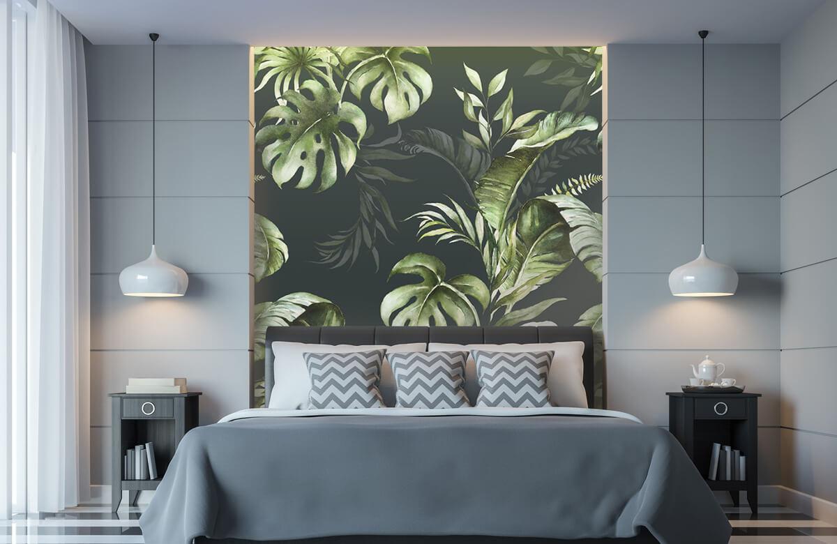 pattern Groene bladeren patroon 10